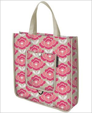 Petunia Pickle Bottom Shopper Tote - Flowering Firenze