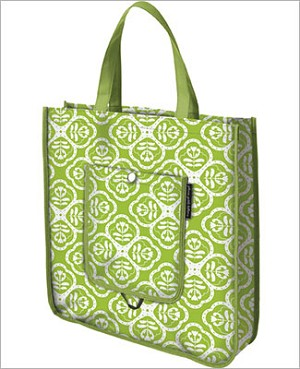 Petunia Pickle Bottom Shopper Tote - Gardens in Glasgow