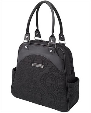 Petunia Pickle Bottom Embossed Sashay Satchel - Central Park North Stop