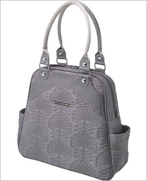 Petunia Pickle Bottom Embossed Sashay Satchel - Champs-Elysees Stop