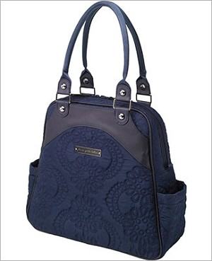 Petunia Pickle Bottom Embossed Sashay Satchel - Waterloo Stop
