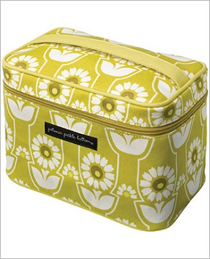 Petunia Pickle Bottom Glazed Train Case - Sunlit Stockholm