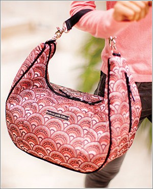 Petunia Pickle Bottom Brocade Touring Tote - Sakura Roll