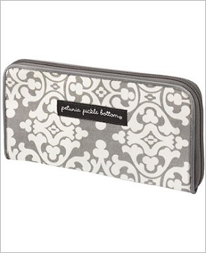 Petunia Pickle Bottom Glazed Wanderlust Wallet - Breakfast in Berkshire