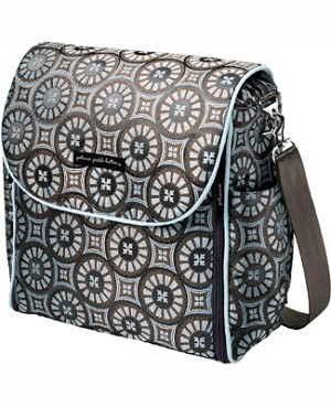 Z: Petunia Pickle Bottom *Brocade* Boxy Backpack - Cobalt Roll *Ships in the Fall!*
