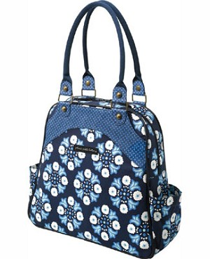 Z: Petunia Pickle Bottom *Organic Cotton* Sashay Satchel - Classic Cornflower