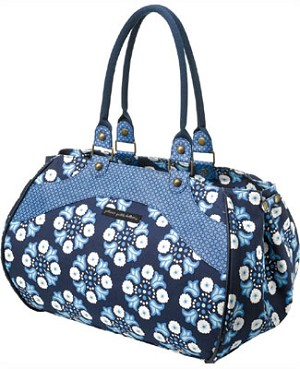 Z: Petunia Pickle Bottom *Organic Cotton* Wistful Weekender - Classic Cornflower