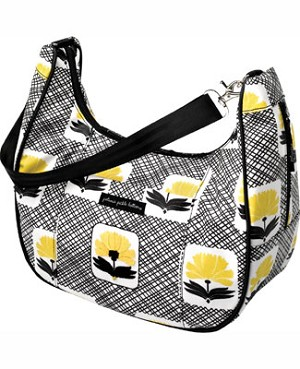 Z: Petunia Pickle Bottom *Glazed* Touring Tote - Holiday in the Hague