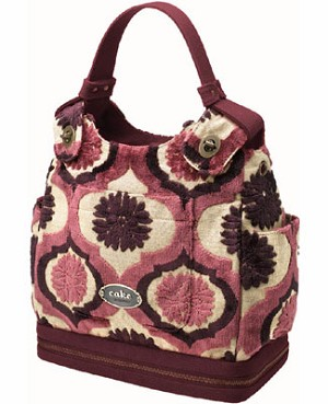 Z: Petunia Pickle Bottom CAKE Society Satchel - Plum Tart