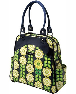 Z: Petunia Pickle Bottom *Glazed* Sashay Satchel - Passport to Prague