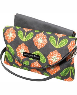 Z: Petunia Pickle Bottom *Glazed* Change-It-Up Clutch - Santiago Sunset
