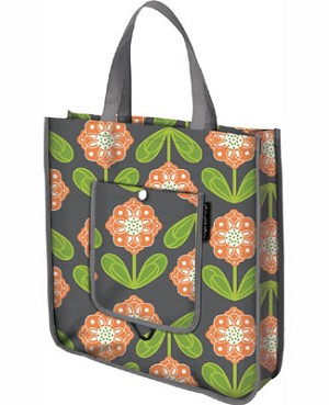 Z: Petunia Pickle Bottom Reusable Shopper Tote - Santiago Sunset