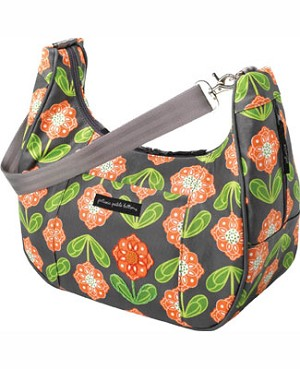 Z: Petunia Pickle Bottom *Glazed* Touring Tote - Santiago Sunset