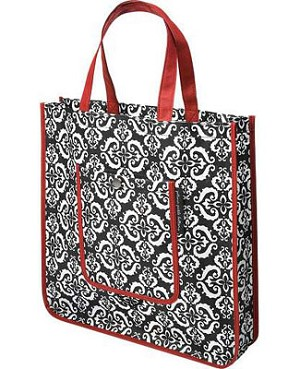 Z: Petunia Pickle Bottom Reusable Shopper Tote - Frolicking in Fez