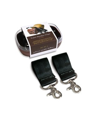 Z: Petunia Pickle Bottom Black Valet Stroller Clips