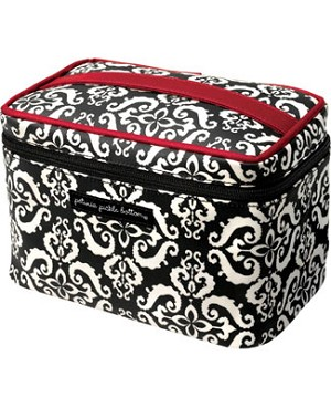 Z: Petunia Pickle Bottom *Glazed* Travel Train Case - Frolicking in Fez