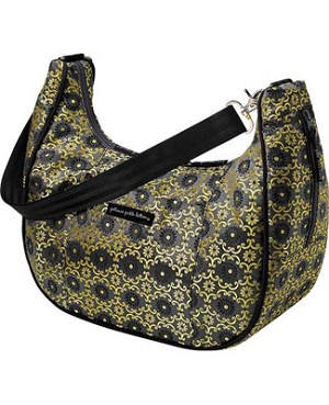 Z: Petunia Pickle Bottom Touring Tote - Yellow Aster Roll