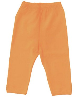 0-3m II: Pure + Sweet Orange Leggings