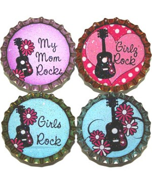 Purple Mountain New Bottle Cap Magnets - All Music