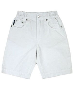 5y: GaliPette White 5 Pocket Shorts