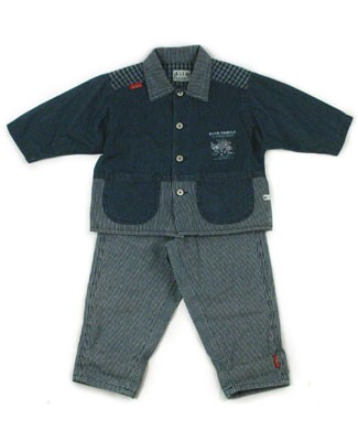 : Klim Baby's Great Vacation Denim Jacket & Pant Set