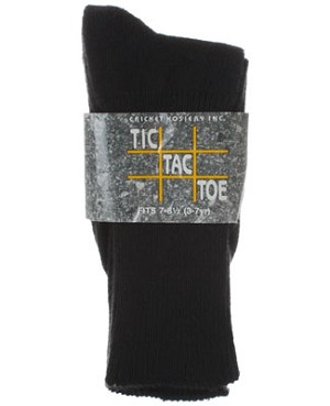 R: Tic Tac Toe Black Socks
