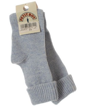 R:  Petit Boy Light Blue Socks