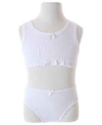 R: Creation Stummer White Underwear Set