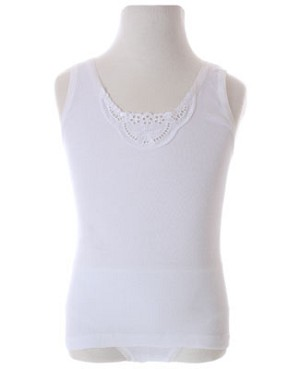 R: Creation Stummer White Bow Camisole Set