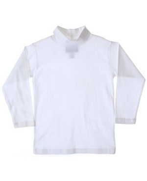 R: Cary Sport White L/S Turtleneck