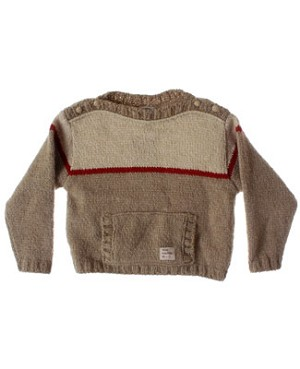 R: Petit Boy Beige Sweater