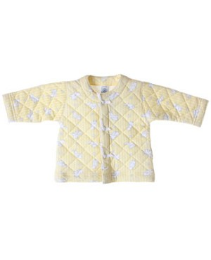 R: Petit Bateau Yellow Baby Animal Jacket
