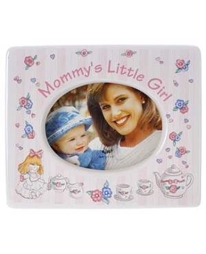 R: Russ Mommy's Little Girl Photo Frame