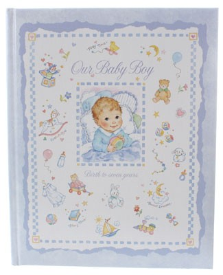 R: C.R.Gibson Baby Book