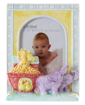 R: C.R.Gibson *Cathy Heck* Noah's Ark Photo Frame
