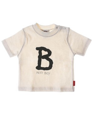R: Petit Boy S/S Cream *B* Tee