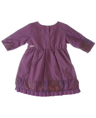 R: Contre Vents Et Marees Shiny Purple Polyester Dress