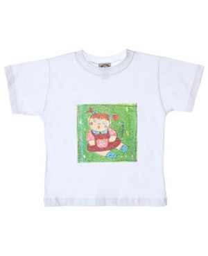 R: Petit Boy S/S White Girl Tee
