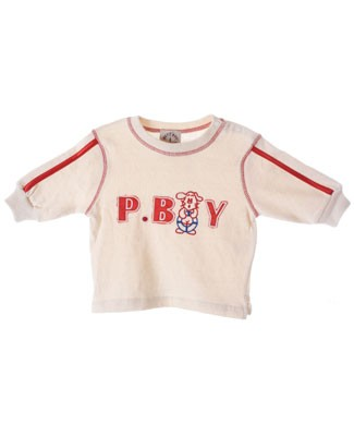 R: Petit Boy Cream L/S Shirt