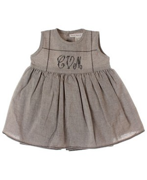 R: Contre Vents et Marees Grey Sleeveless Skirted Romper