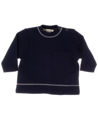 R: Contre Vents et Marees Navy L/S Shirt