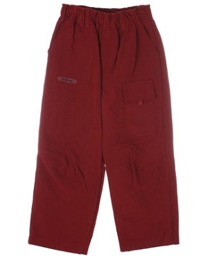 R: Alphabet Burgundy Pants