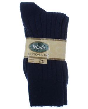 R: Trimfit Navy Socks