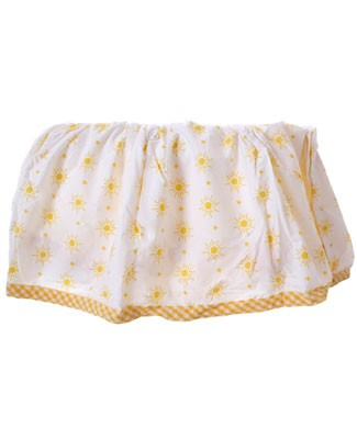 R: Belinda Barton *Suns And Stars* Crib Skirt