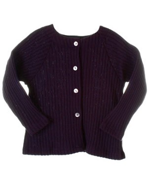 R: Alphabet Plum L/S  Sweater