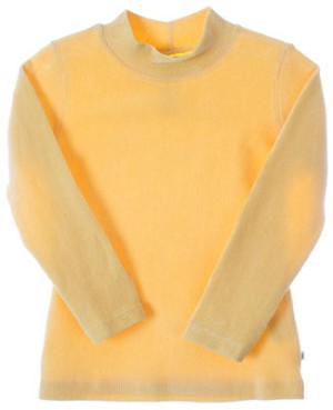 R: Alphabet Yellow L/S Ribbed Shirt
