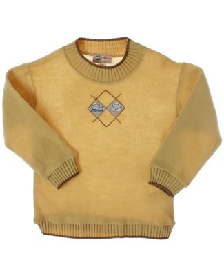 R: Babar Yellow L/S Sweater