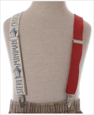 R: Miniman Red And Cream Suspenders With Ships