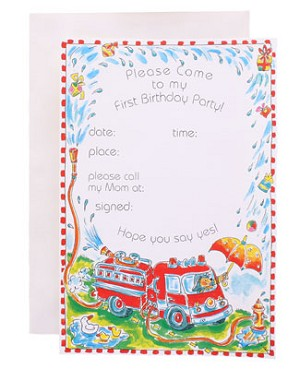 R: 1st Birthday Invitations