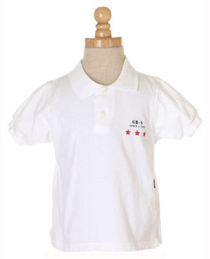 18m: Gumboots White S/S Polo Shirt